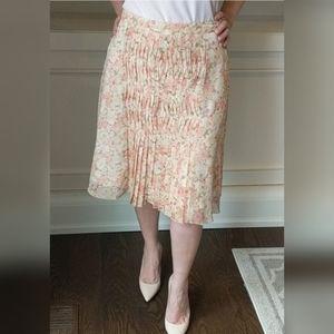 Tristan flower pleated skirt - 6